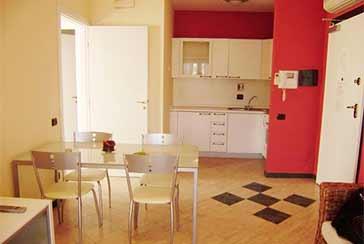 Foto Appartamento Rif.AFS030 in affitto-settimanale situato a Cinquale
