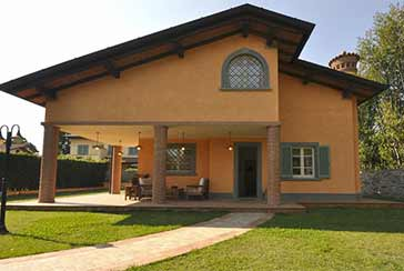 Foto Villa Rif.AF211 in affitto-stagionale situato a Forte dei Marmi