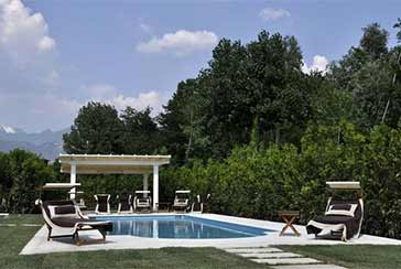 Photo about Villa with swimming pool Ref.AF146 Forte dei Marmi