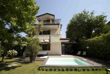 Photo about Villa with swimming pool Ref.AFS304 Marina di Pietrasanta