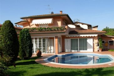 Photo about Villa with swimming pool Ref.AF350 Forte dei Marmi