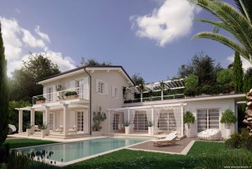 Photo about Building land Ref.F667 Forte dei Marmi