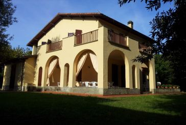 Photo about Villa Ref.F548 Marina di Massa