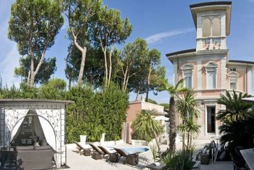 Photo about Villa Ref.F653 Forte dei Marmi
