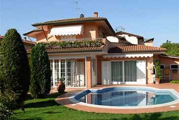 Main photo about Villa Ref.P341 for sale located in Marina di Pietrasanta