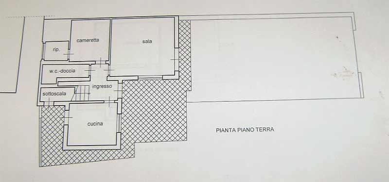 Planimetria Villa Rif.F414