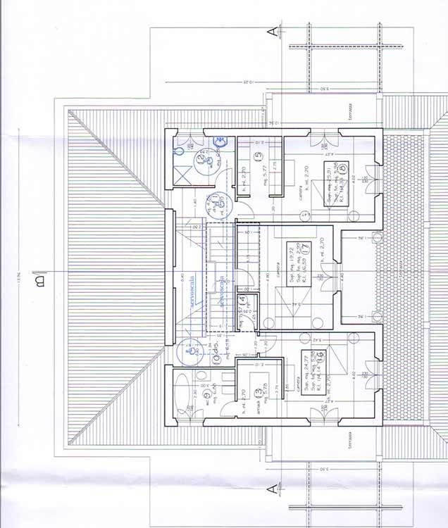 Planimetry of Villa Ref.F443