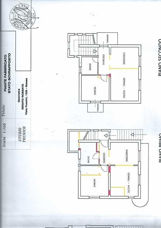 Planimetry of Villa Ref.R277